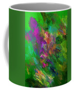 Abstract Floral Fantasy 071912 Coffee Mug