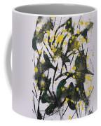 Abstract Floral Study Coffee Mug