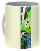 Abstract Flow Green-blue Series No.3 Coffee Mug