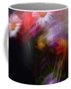 Abstract Flowers One Coffee Mug