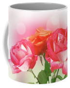 Abstract Flowers Spring Background Coffee Mug