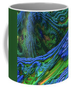 Abstract Fractal Landscape Coffee Mug