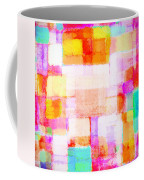 Abstract Geometric Colorful Pattern Coffee Mug
