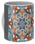 Abstract Geometric Structures Coffee Mug