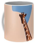 Abstract Giraffe Coffee Mug