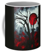 Abstract Gothic Art Original Landscape Painting Imagine I By Madart Coffee Mug