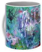 Abstract Greens Coffee Mug