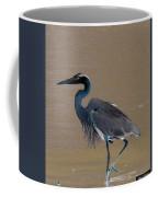 Abstract Heron Art Coffee Mug