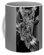 Abstract In Black And White 2 Coffee Mug
