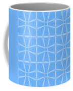 Abstract In Blue Coffee Mug