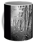 Abstract In Ice Coffee Mug