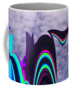 Abstract In The Clouds Coffee Mug