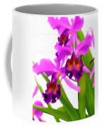 Abstract Iris Coffee Mug