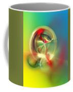 Abstract Karma Wheel Coffee Mug