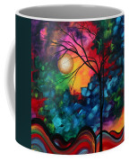 Abstract Landscape Bold Colorful Painting Coffee Mug by Megan Duncanson