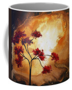 Abstract Landscape Painting Empty Nest 12 By Madart Coffee Mug by Megan Duncanson