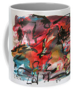 Abstract Landscape Sketch13 Coffee Mug