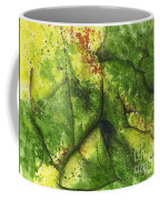 Abstract Leaf Coffee Mug