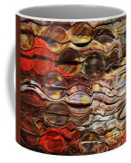 Abstract Magnified Lines Coffee Mug