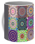 Abstract Mandala Collage Coffee Mug