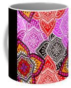 Abstract Mandala Floral Design Coffee Mug
