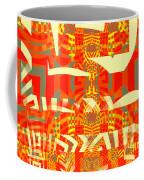 Abstract Maze Coffee Mug