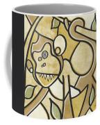 Funky Monkey - Zeeko Abstract Monkey Coffee Mug