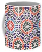 Abstract Moroccon Tiles Colorful Coffee Mug
