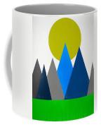 Abstract Mountains Landscape Coffee Mug