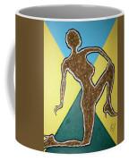 Abstract Nude Ebony In Heels Coffee Mug