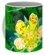 Abstract Of A Wild Buttercup Flower Coffee Mug