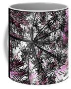 Abstract Of Ever Green Bush Coffee Mug