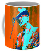 Abstract Of Leonard Cohen Coffee Mug