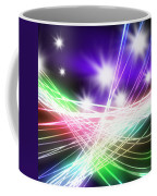 Abstract Of Stage Concert Lighting Coffee Mug