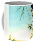Abstract  Of Trees And Sky Coffee Mug