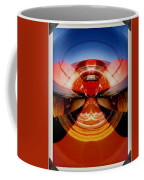 Abstract Old Car Spare Tire Coffee Mug