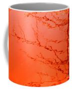 Abstract Orange Coffee Mug