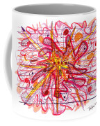 Abstract Pen Drawing Fifteen Coffee Mug