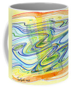 Abstract Pen Drawing Forty-one Coffee Mug