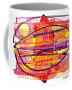 Abstract Pen Drawing Fourteen Coffee Mug