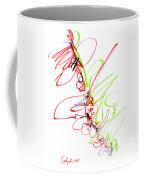 Abstract Pen Drawing Seventy Coffee Mug