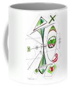 Abstract Pen Drawing Seventy-six Coffee Mug