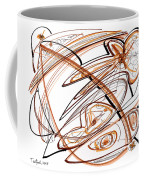 Abstract Pen Drawing Ten Coffee Mug
