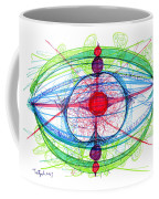 Abstract Pen Drawing Thirty-one Coffee Mug