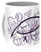 Abstract Pen Drawing Thirty-six Coffee Mug