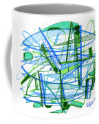 Abstract Pen Drawing Twenty-eight Coffee Mug