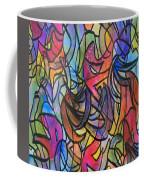 Abstract Pen Coffee Mug