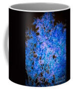 Abstract Pf Tree In Blue And Black Coffee Mug