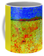 Abstract Photo In Yellow And Blue Coffee Mug