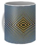 Abstract Photomontage Mid Continental Plaza N132p1 Dsc5528 Coffee Mug